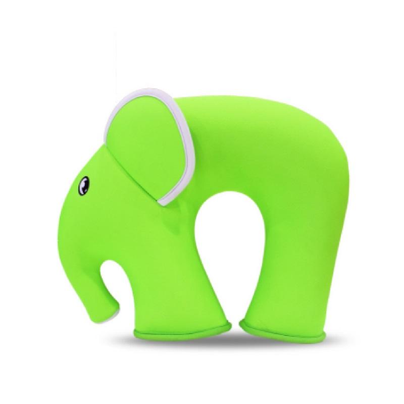 Подушка Слон Салатовая