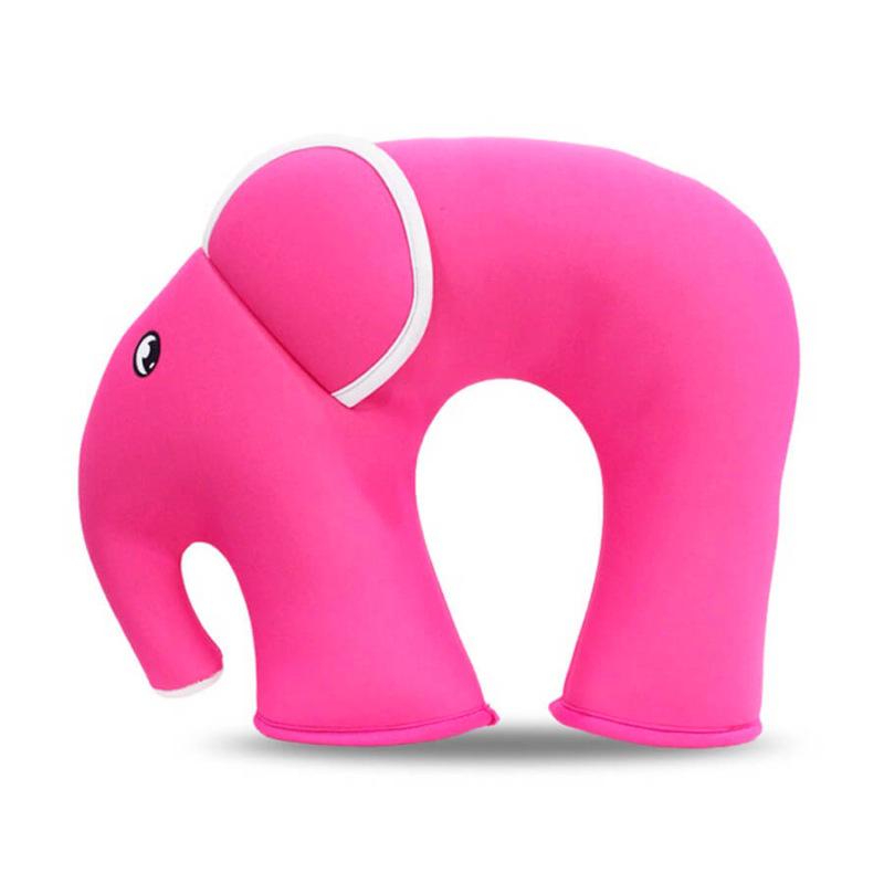 Подушка Слон Розовая
