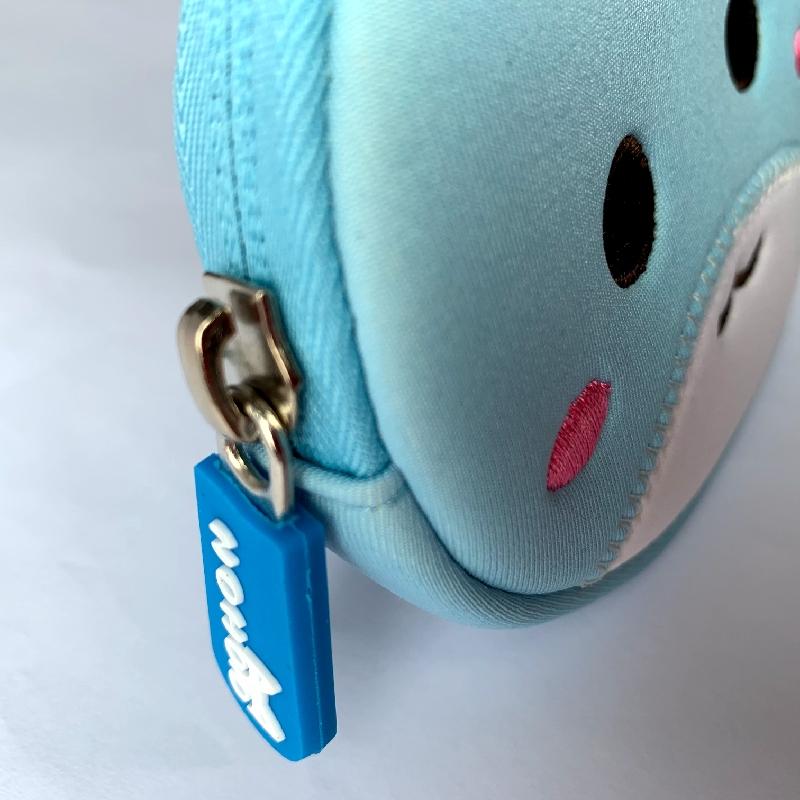 Кошелек Nohoo Зайка Голубой для мальчиков и девочек (NHW002)