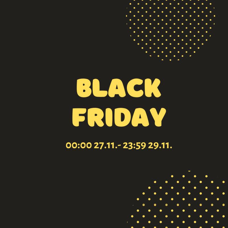 Black Friday на нашем сайте набирает обороты!