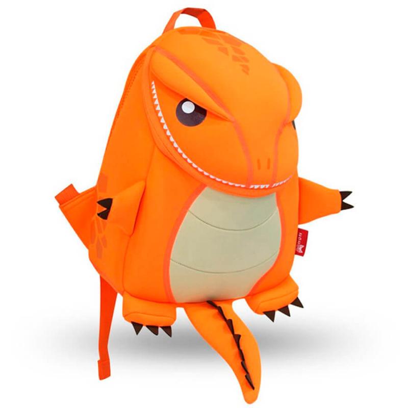 Большой Динозаврик Оранжевый