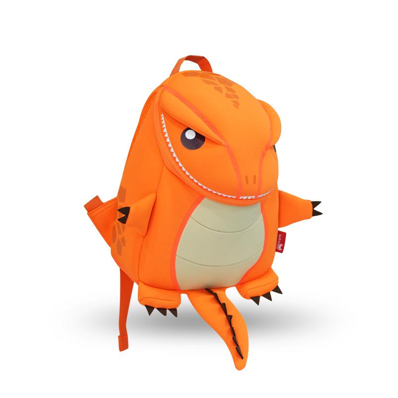 Динозаврик Оранжевый маленький