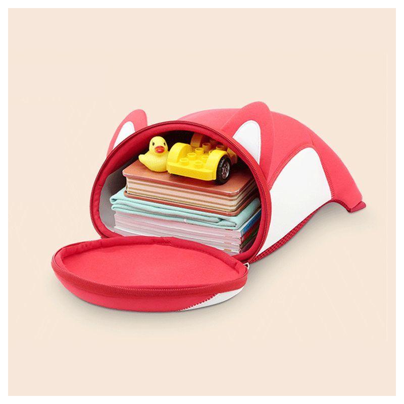 Детский рюкзак ортопедический Nohoo Лисенок Красный Средний для мальчиков и девочек (NHB087M)