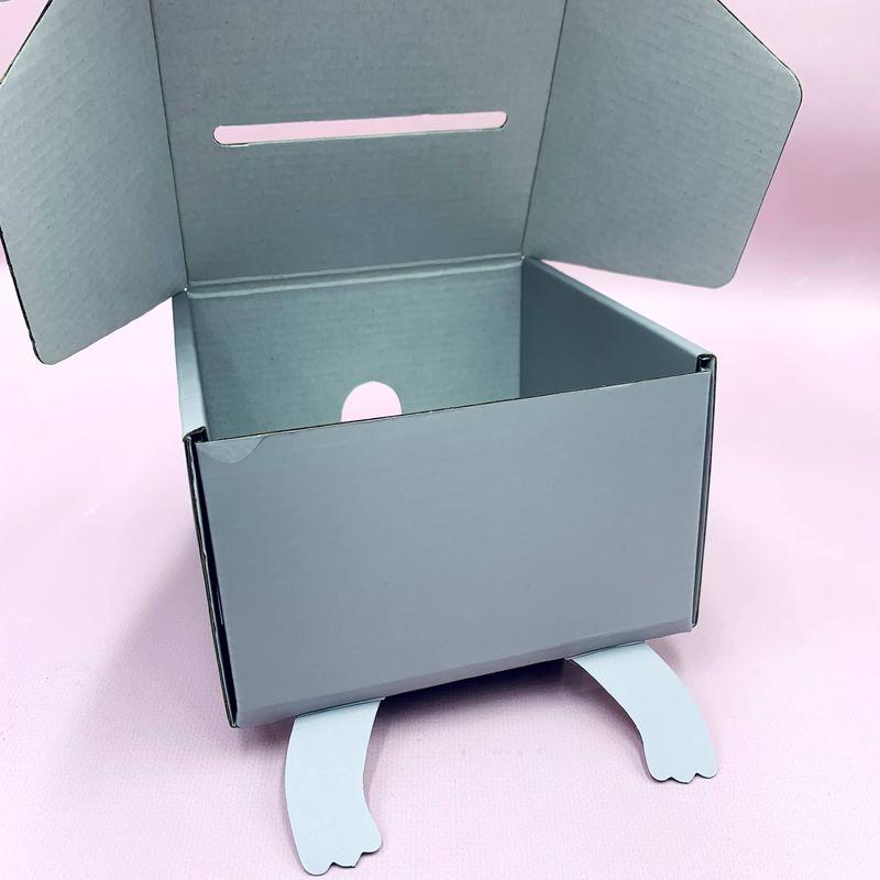 Подарочная Коробка Nohoo Котик S 15х15.5х9.5см для мальчиков и девочек (N003S-1)