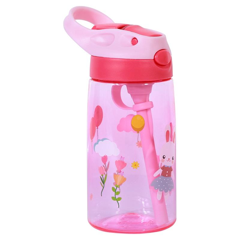Бутылка для Воды Nohoo Зайка Розовая для девочек (NHC003-2)