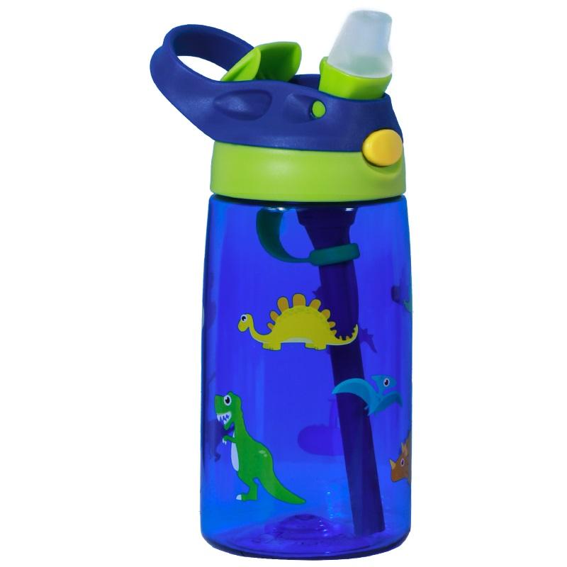 Бутылка для Воды Nohoo Дино Синяя для мальчика (NHC003-4)